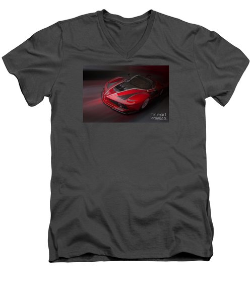 La Ferrari Fxx K Men's V-Neck T-Shirt