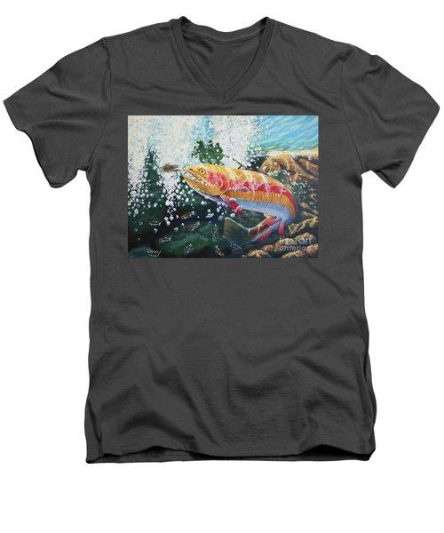 Not Your Average Goldfish Men's V-Neck T-Shirt