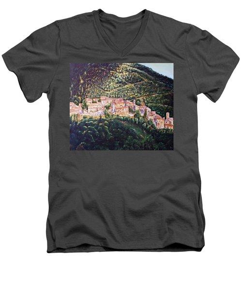 Rays Men's V-Neck T-Shirt