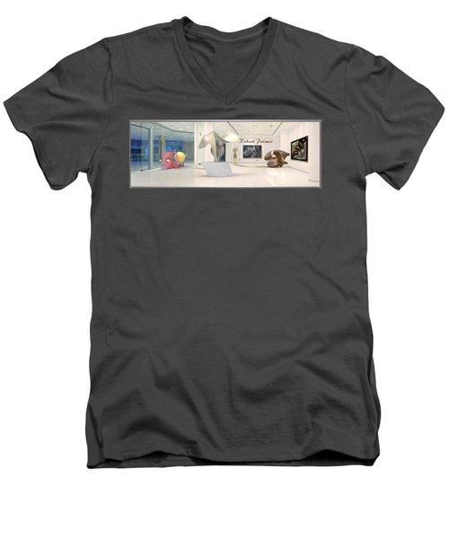 ' Robert Palmer At Large ' Men's V-Neck T-Shirt