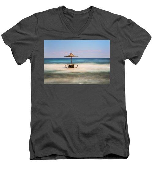 Seaside Bar Men's V-Neck T-Shirt