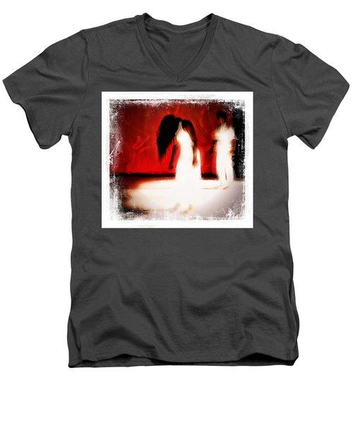 Stop Violence Against Women 4 Men's V-Neck T-Shirt