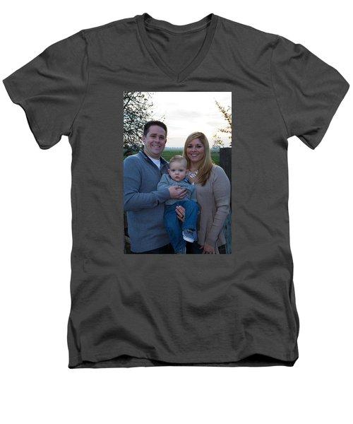 003 Men's V-Neck T-Shirt