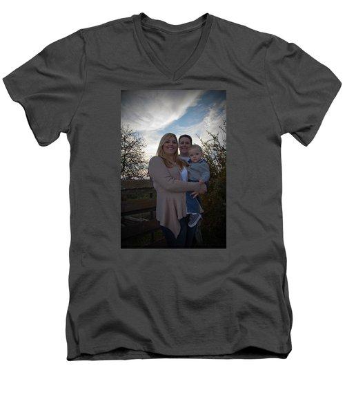 009 Men's V-Neck T-Shirt