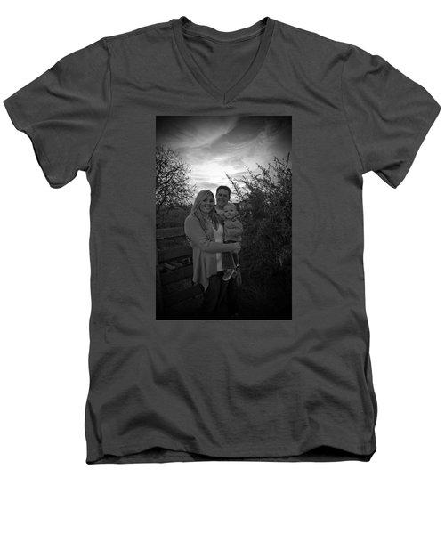 012 Men's V-Neck T-Shirt