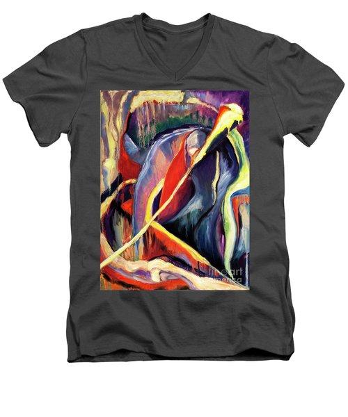 01355 Hot Men's V-Neck T-Shirt