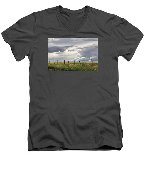 #0149 - Axtel Anceney, Southwest Montana Men's V-Neck T-Shirt