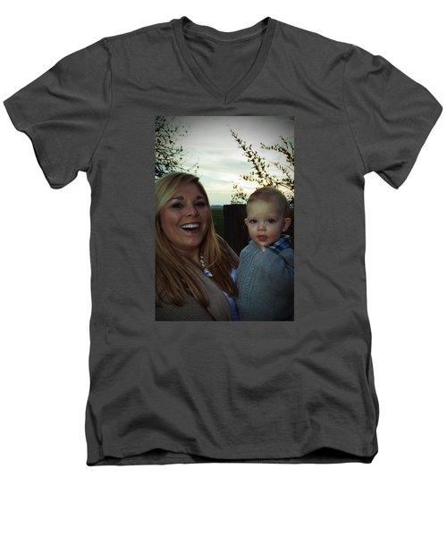 015 Men's V-Neck T-Shirt