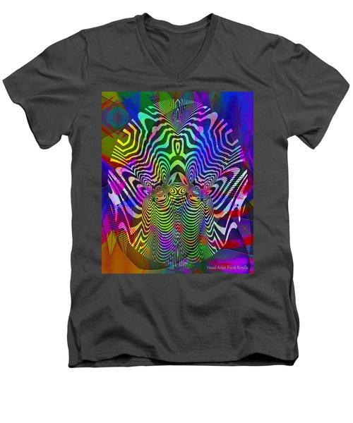 #021320163 Men's V-Neck T-Shirt