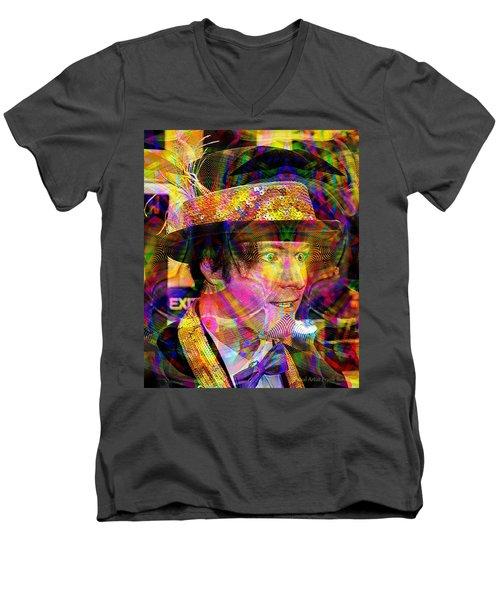 #021320164 Men's V-Neck T-Shirt