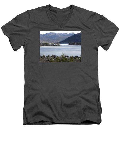 Granby Lake Rmnp Men's V-Neck T-Shirt