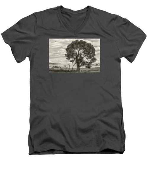 #0543 - Southwest Montana Men's V-Neck T-Shirt