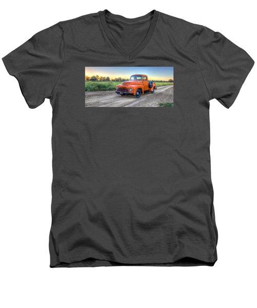 1951 International  Men's V-Neck T-Shirt