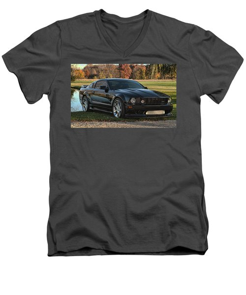 2 Men's V-Neck T-Shirt by John Crothers