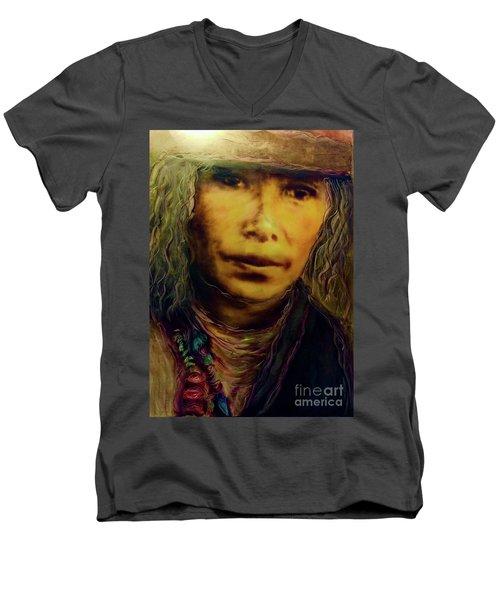 A Long Journey Home Men's V-Neck T-Shirt