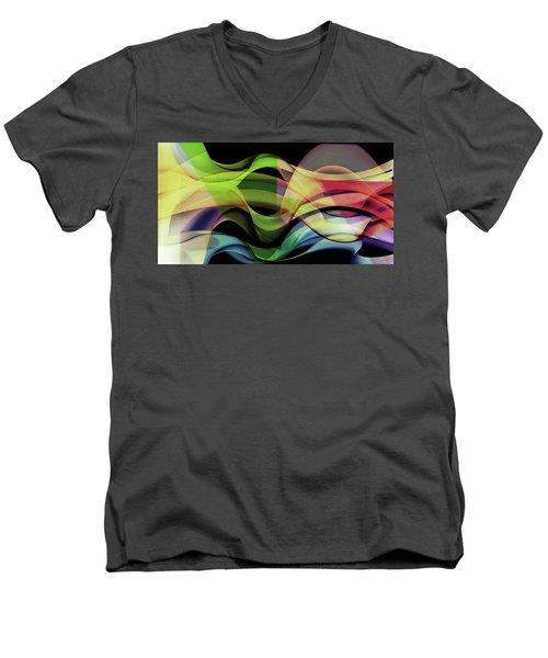 Men's V-Neck T-Shirt featuring the photograph Abstract Photography by Allen Beilschmidt