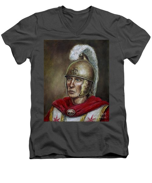 Alexander The Great Men's V-Neck T-Shirt