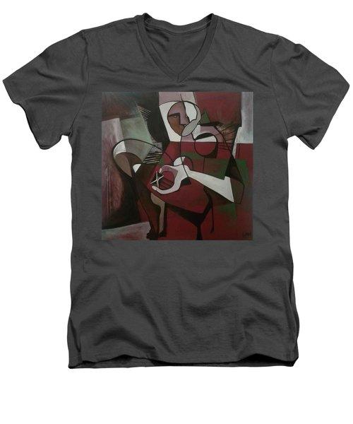 All In Good Time Men's V-Neck T-Shirt