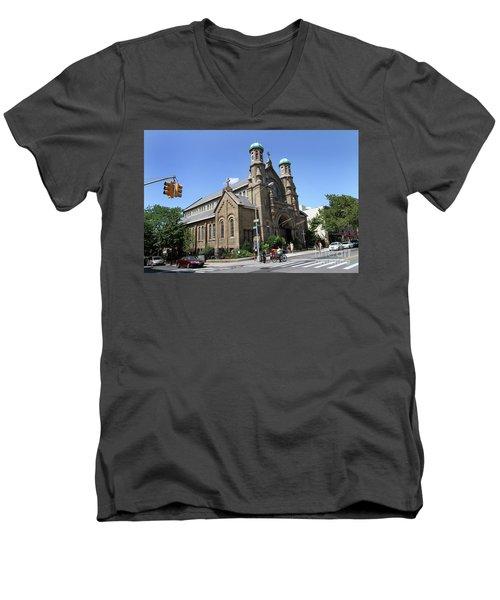 All Saints Episcopal Church Men's V-Neck T-Shirt