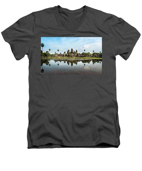 Angkor Wat Men's V-Neck T-Shirt