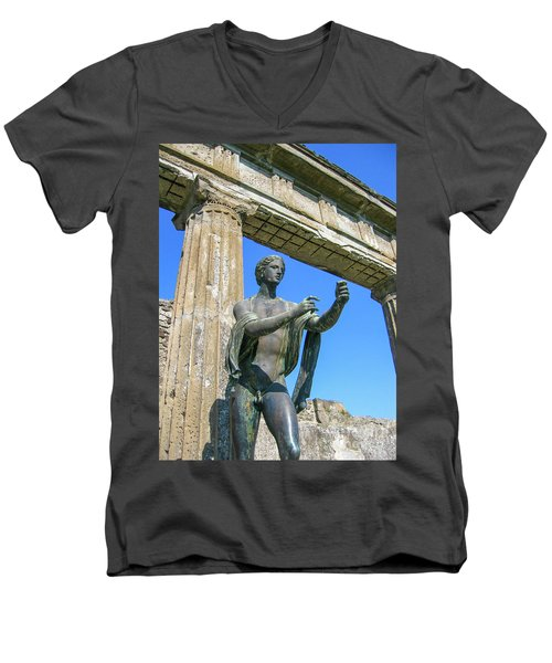 Apollo Men's V-Neck T-Shirt by Patricia Hofmeester