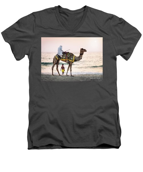 Arabian Nights Men's V-Neck T-Shirt