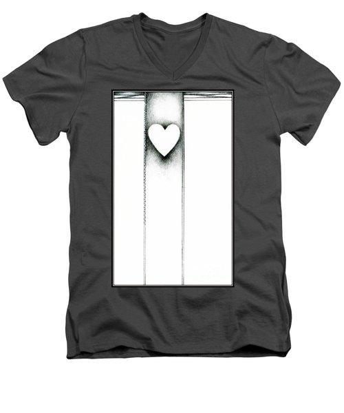 Ascending Heart Men's V-Neck T-Shirt