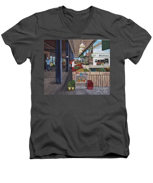 Atwater Market Men's V-Neck T-Shirt