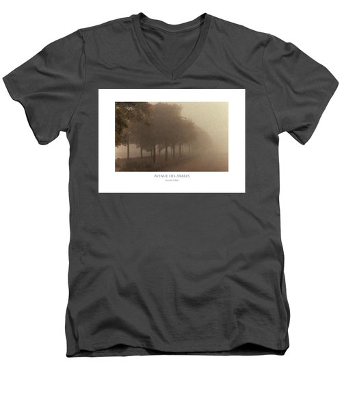 Avenue Des Arbres Men's V-Neck T-Shirt