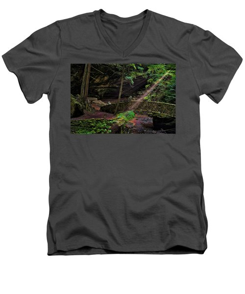 Awesome Way Men's V-Neck T-Shirt