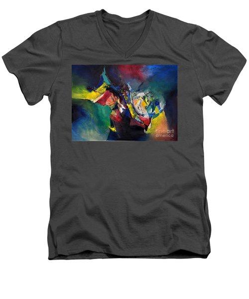 Aztec Man Men's V-Neck T-Shirt