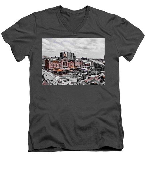 Baltimore Power Plant Men's V-Neck T-Shirt