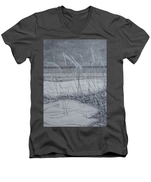 Beach Grass Men's V-Neck T-Shirt