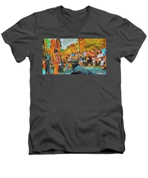 Beaches Jazz Festival Men's V-Neck T-Shirt