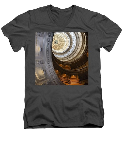Been Playing #lobbyist And Snapping Men's V-Neck T-Shirt by Austin Tuxedo Cat