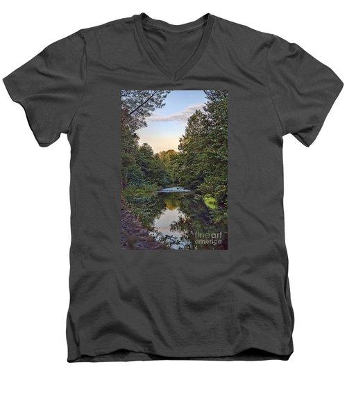 Big Chico Creek Men's V-Neck T-Shirt