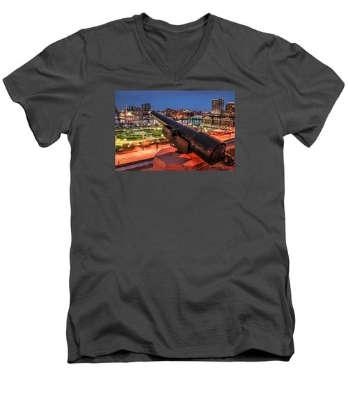 Blast From The Past  Men's V-Neck T-Shirt by Wayne King