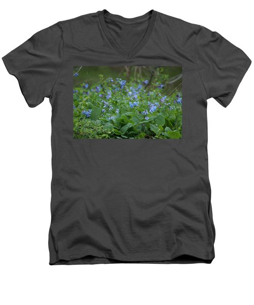 Blue Bells Men's V-Neck T-Shirt