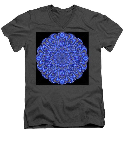 Blue Fire Men's V-Neck T-Shirt