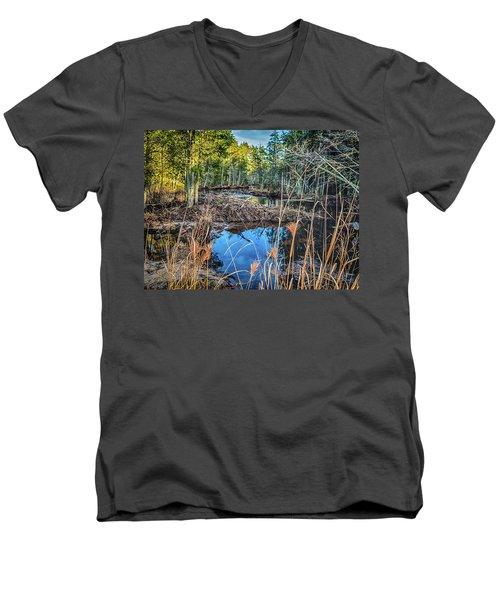 Blue Reflection Men's V-Neck T-Shirt