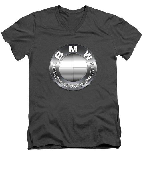 Bmw Logo Men's V-Neck T-Shirt