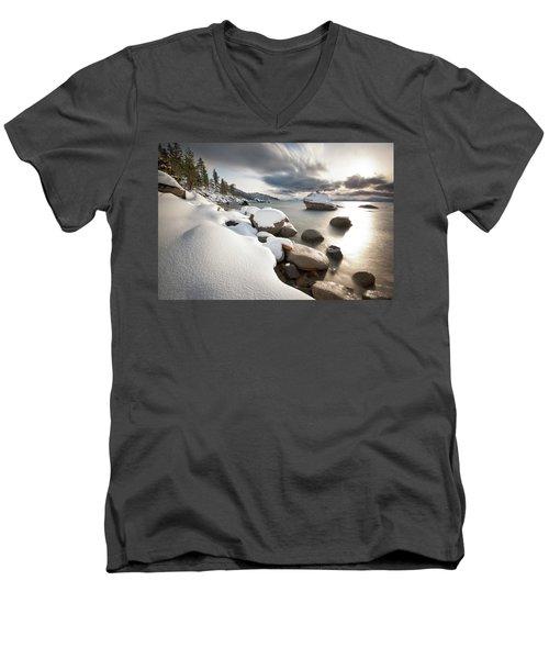 Bonsai Dream Men's V-Neck T-Shirt by Scott Warner