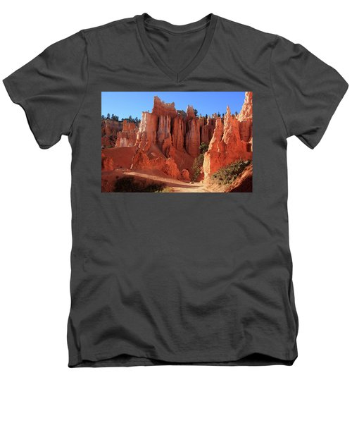 Bryce Canyon National Park, Utah Men's V-Neck T-Shirt