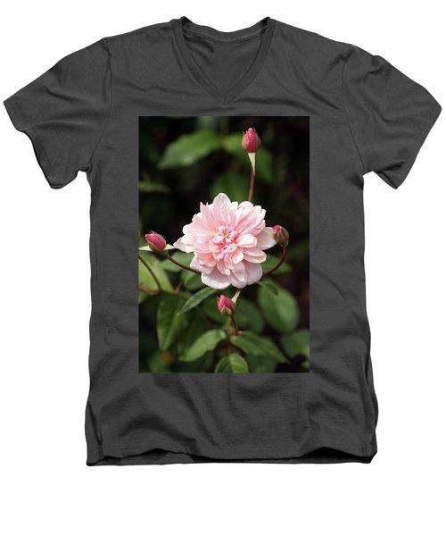 Budding Men's V-Neck T-Shirt