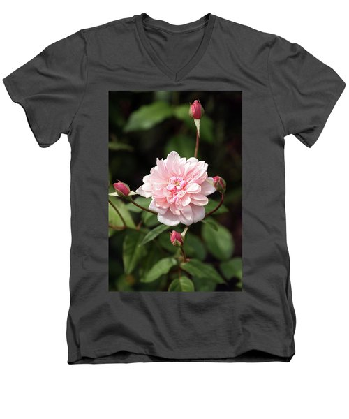 Budding Men's V-Neck T-Shirt