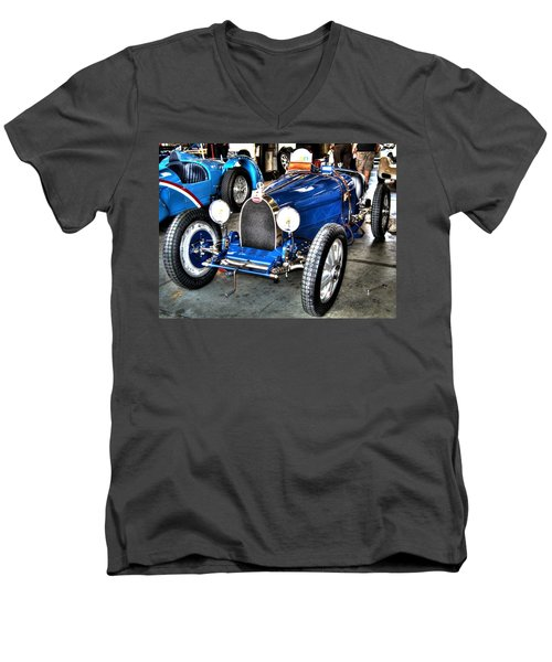 Bugatti Men's V-Neck T-Shirt by Josh Williams