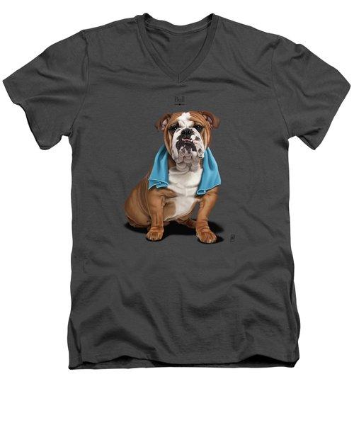 Bull Men's V-Neck T-Shirt