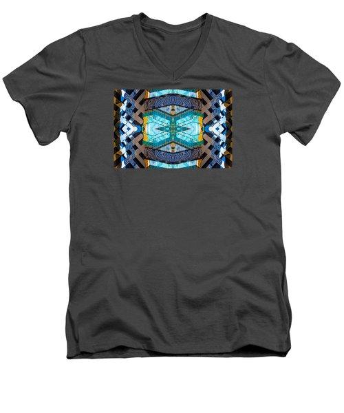 Burberry N83 V1 Men's V-Neck T-Shirt