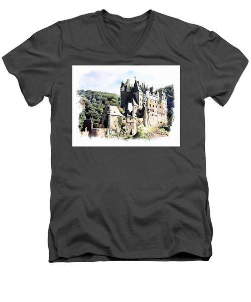 Burg Eltz - Moselle Men's V-Neck T-Shirt