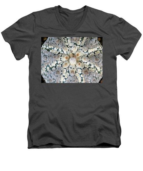 Cactus 2 Men's V-Neck T-Shirt by Selena Boron